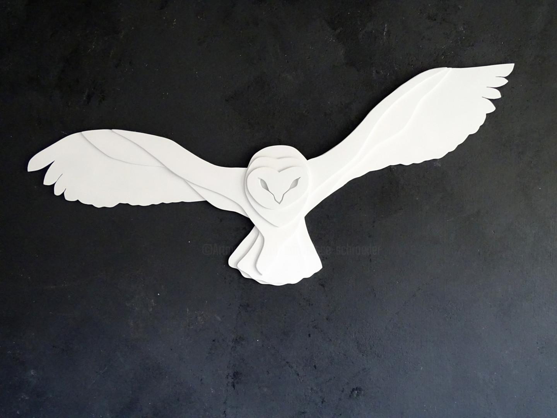 Constance Schroeder - Anima chouette blanche