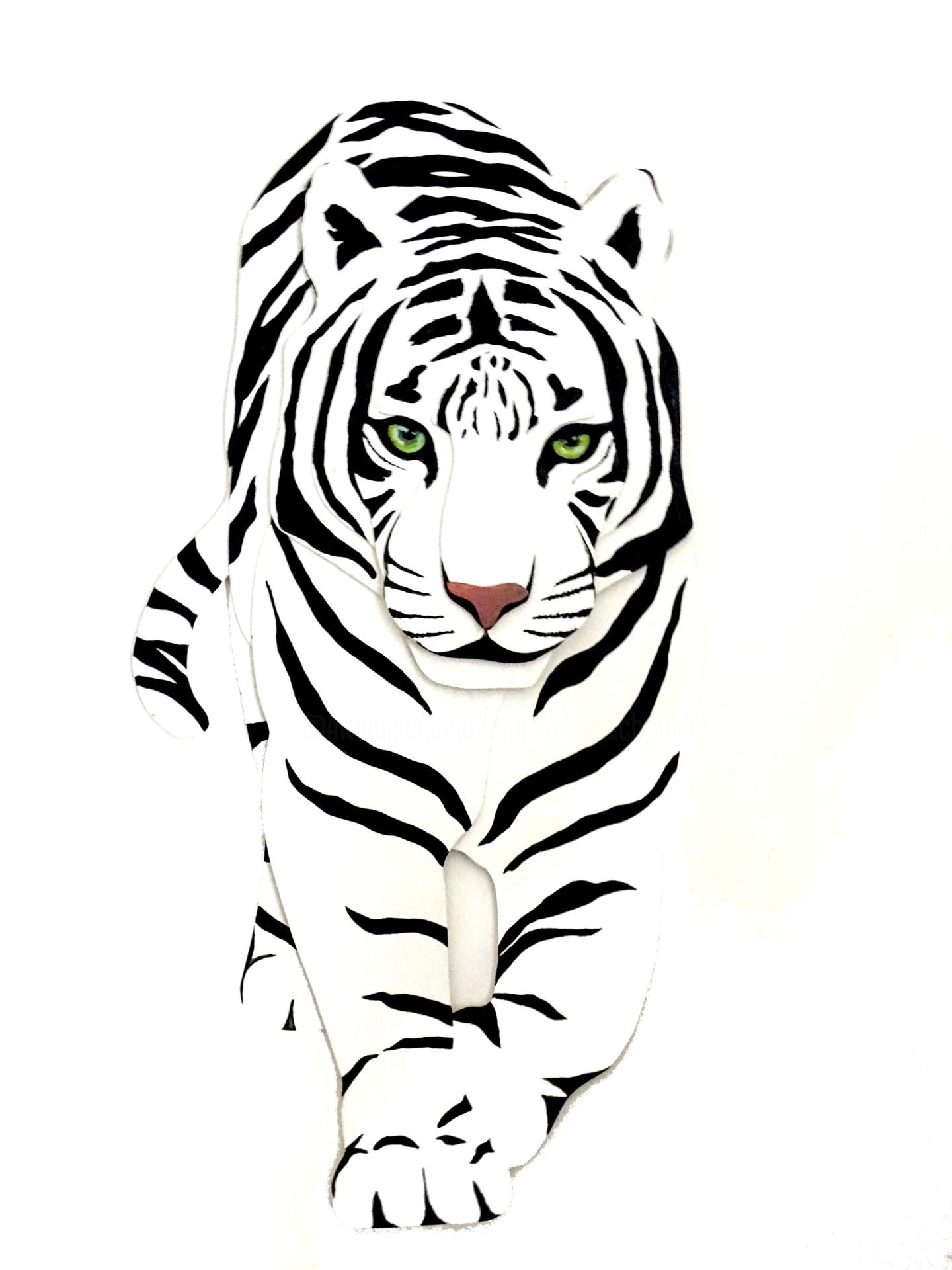 Constance Schroeder - Anima Tigre blanc
