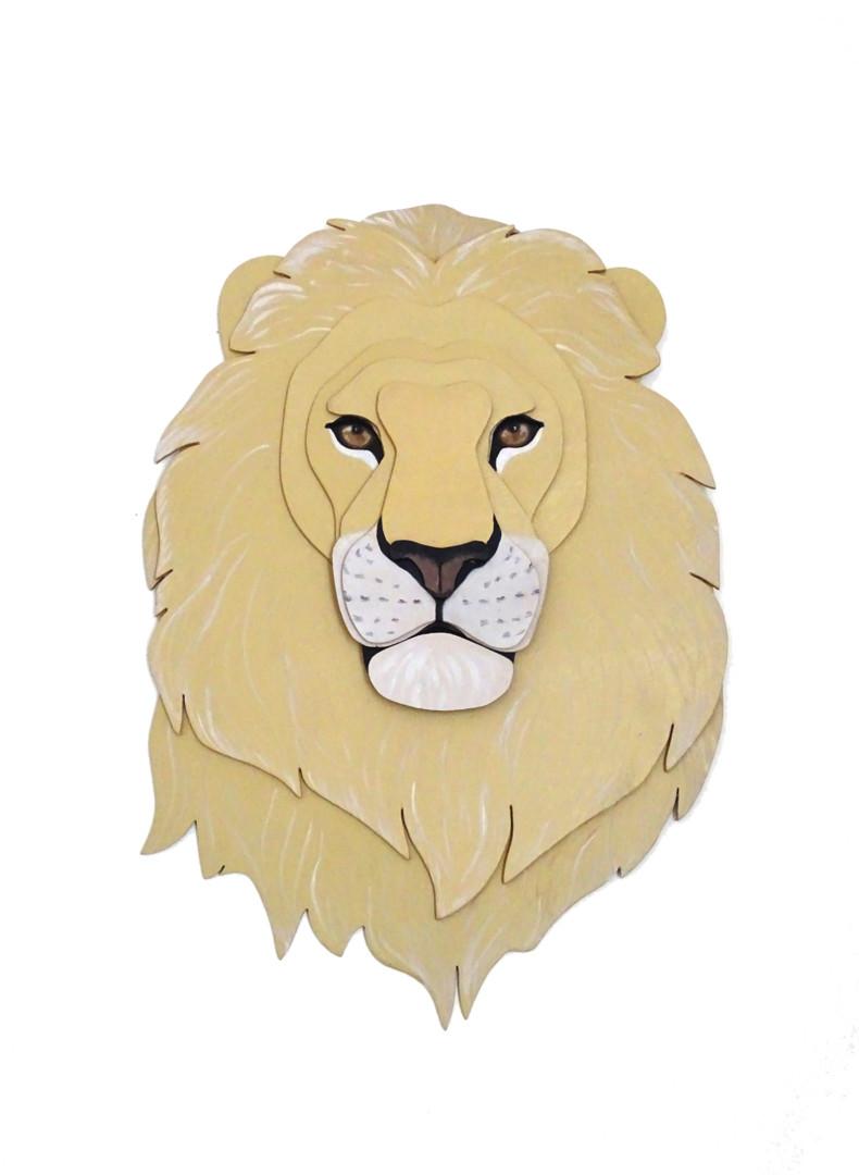 Constance Schroeder - Anima Tête Lion