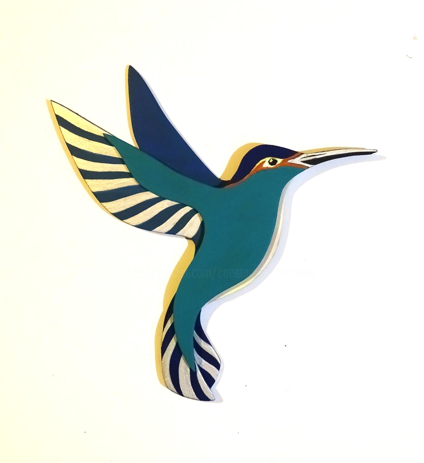 Constance Schroeder - Colibri multicolore 3