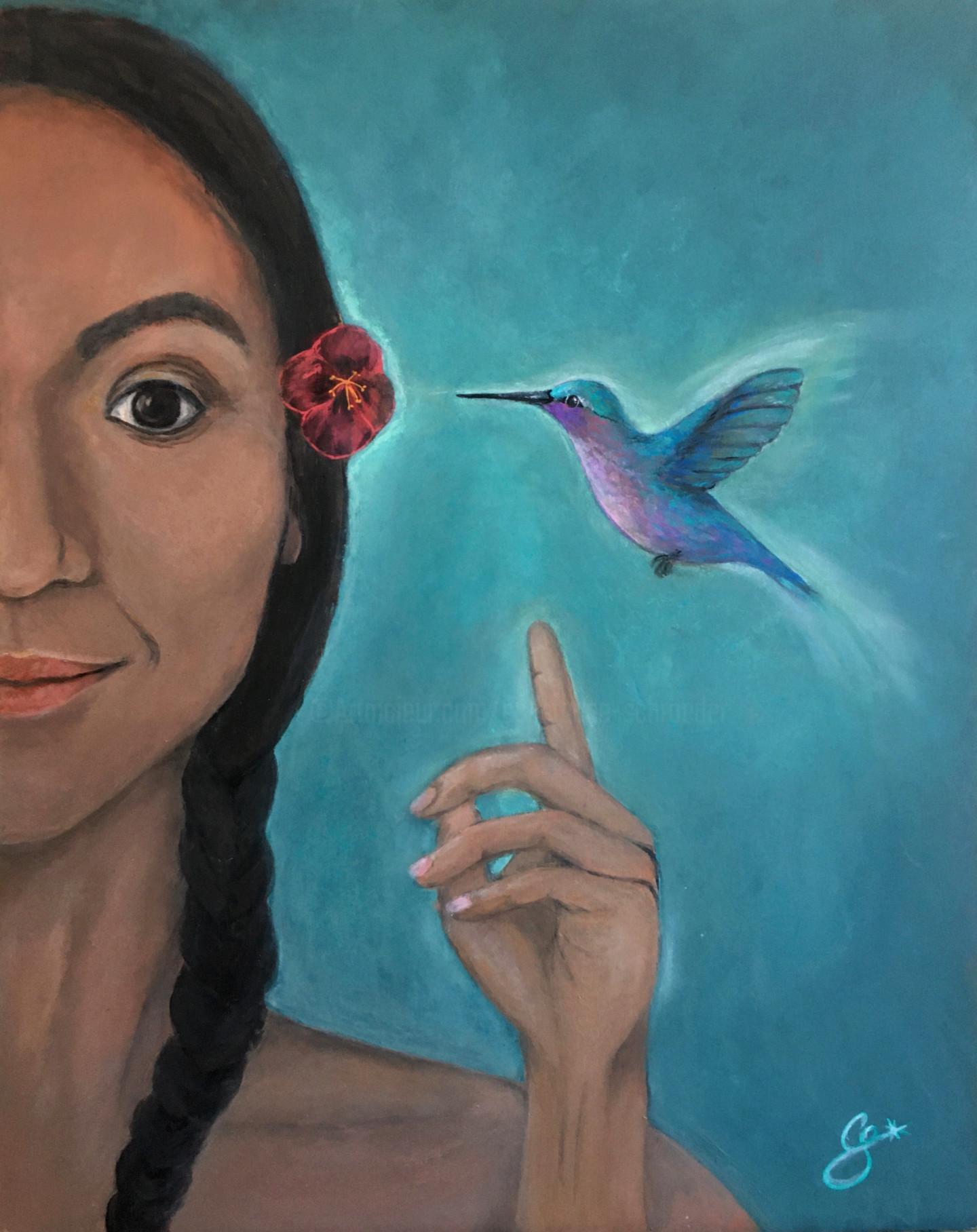 Constance Schroeder - secret du colibri